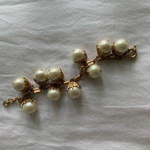 JCrew Oversized Pearl Bracelet